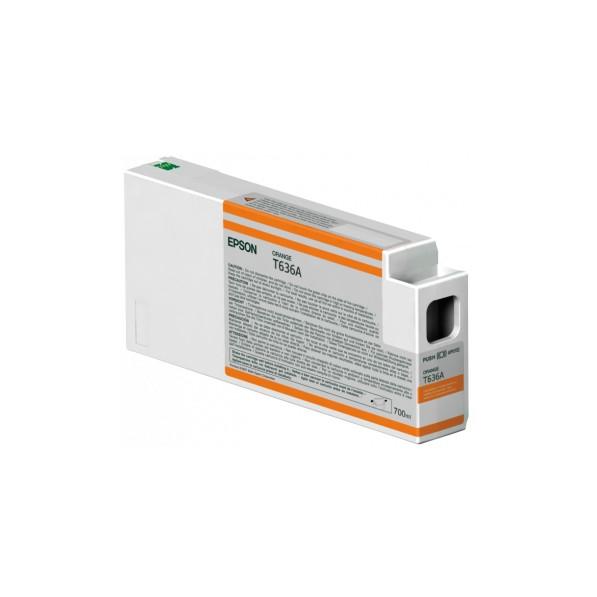 EPSON C13T636A00 橘色墨水匣 T636A00 (700ml) 原廠墨水匣 橘色 PRO7900/9900