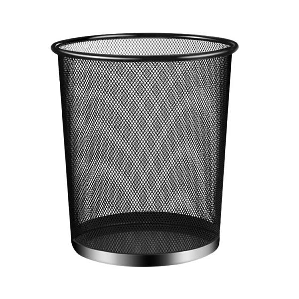 垃圾桶MR/妙然加厚垃圾桶收納桶防繡鐵絲網家用分類垃圾廢紙簍收納1個 618特惠