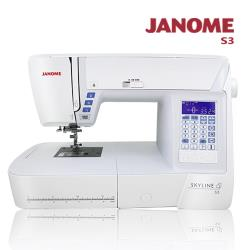 JANOME 電腦型全迴轉縫紉機S3