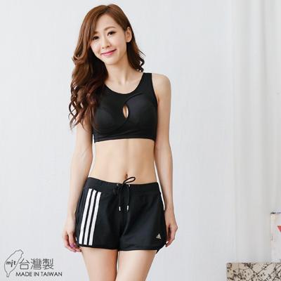 【伊黛爾】 蜂巢布素材零束縛無鋼圈運動美胸內衣 A-E罩 M-XXL(氣質黑)-【7309】