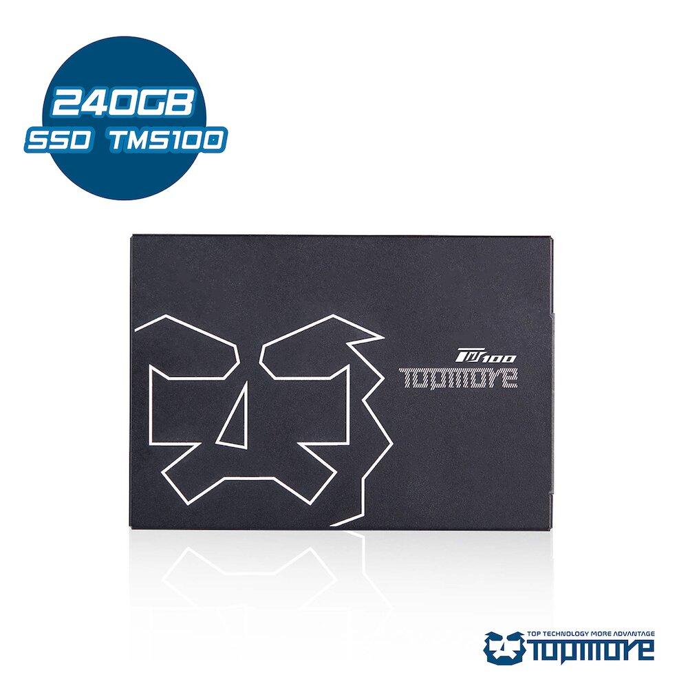 【達墨】TOPMORE 固態硬碟 TMS 240 GB 2.5吋  SATAIII SSD(TLC)