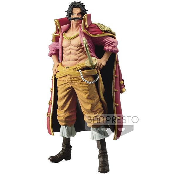 BANPRESTO 景品 海賊王 KING OF ARTIST 哥爾·D·羅傑 公仔 擺飾 COCOS FG680