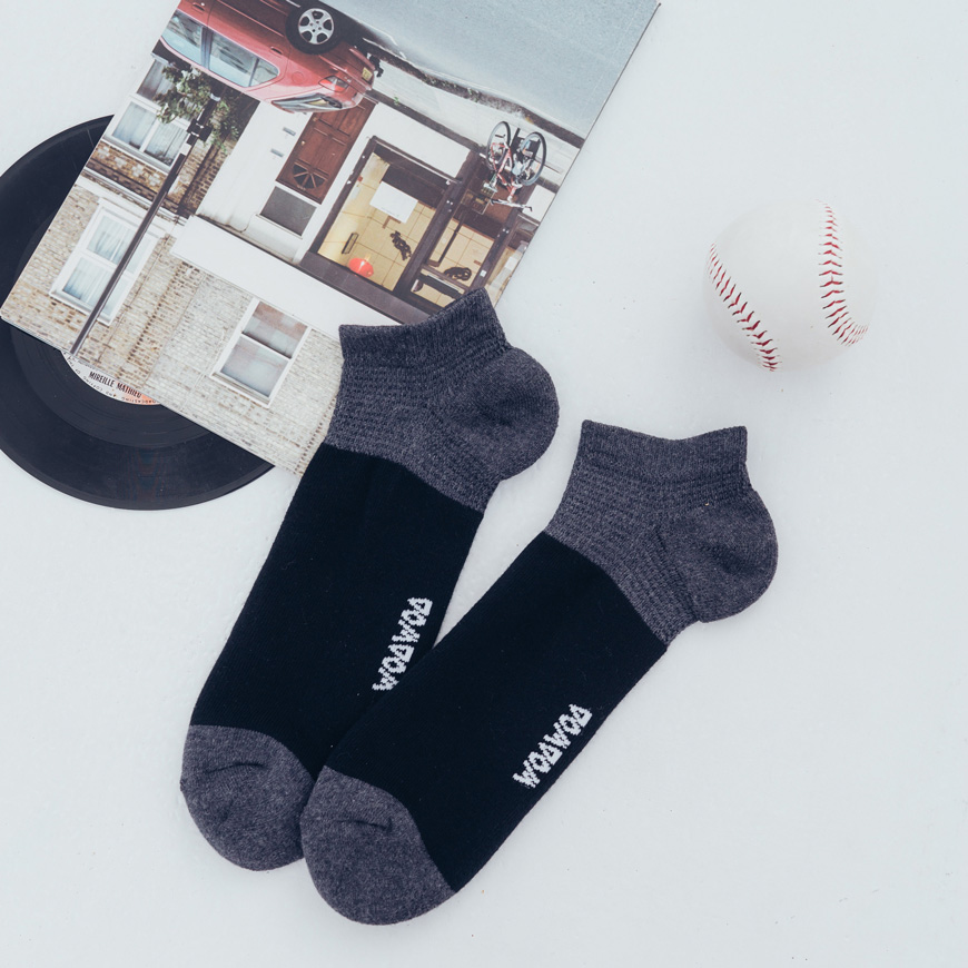 厚磅毛圈 壓力足弓襪-男 2色