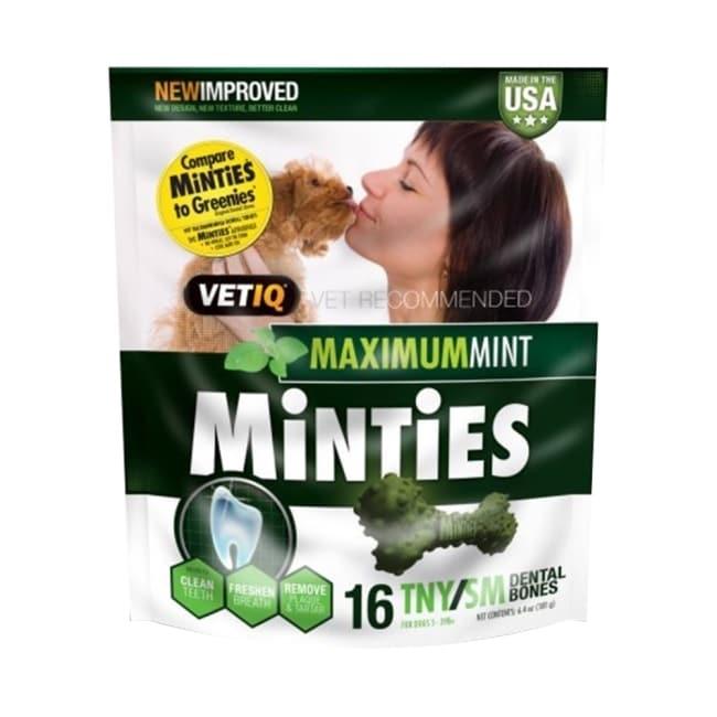 【MiNTiES猛特斯】清新低脂潔牙骨T/S 6.4oz(16入) VM-11