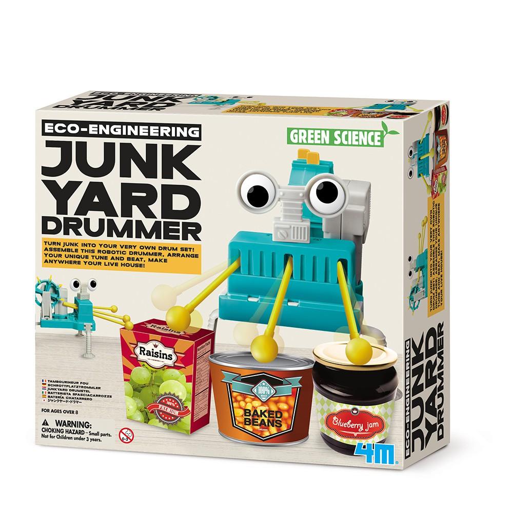 [4M]再生小鼓手Junk Yard Drummer