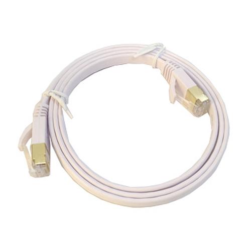 光纖網路專用工程級CAT.7 高速扁線 1M-