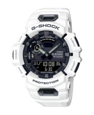 G-Shock White Resin Ana-Digi Ble Steptracker Watch