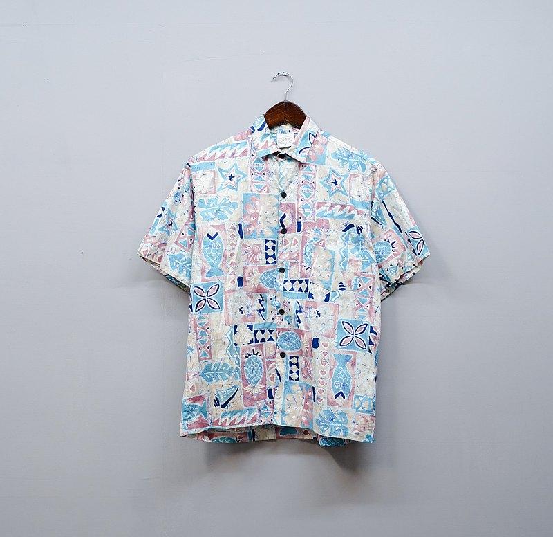 除了 True Love 你不喜歡我又不放過我 夏威夷襯衫 古著