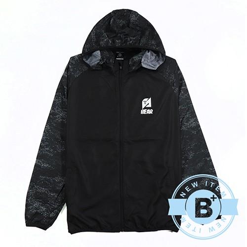 【B+大尺碼專家】SIND-連帽薄外套-黑-B60534