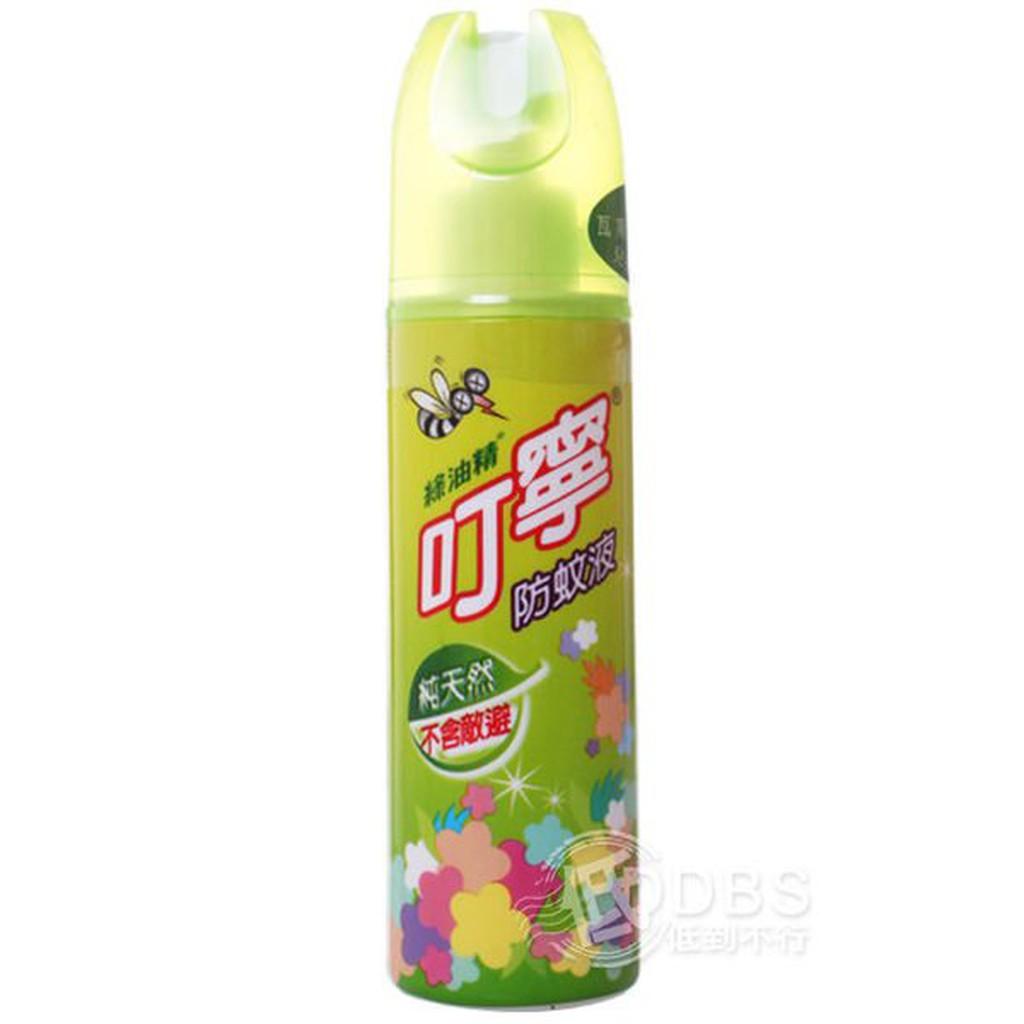 綠油精 叮嚀 防蚊液 120ml 不含DEET 叮寧