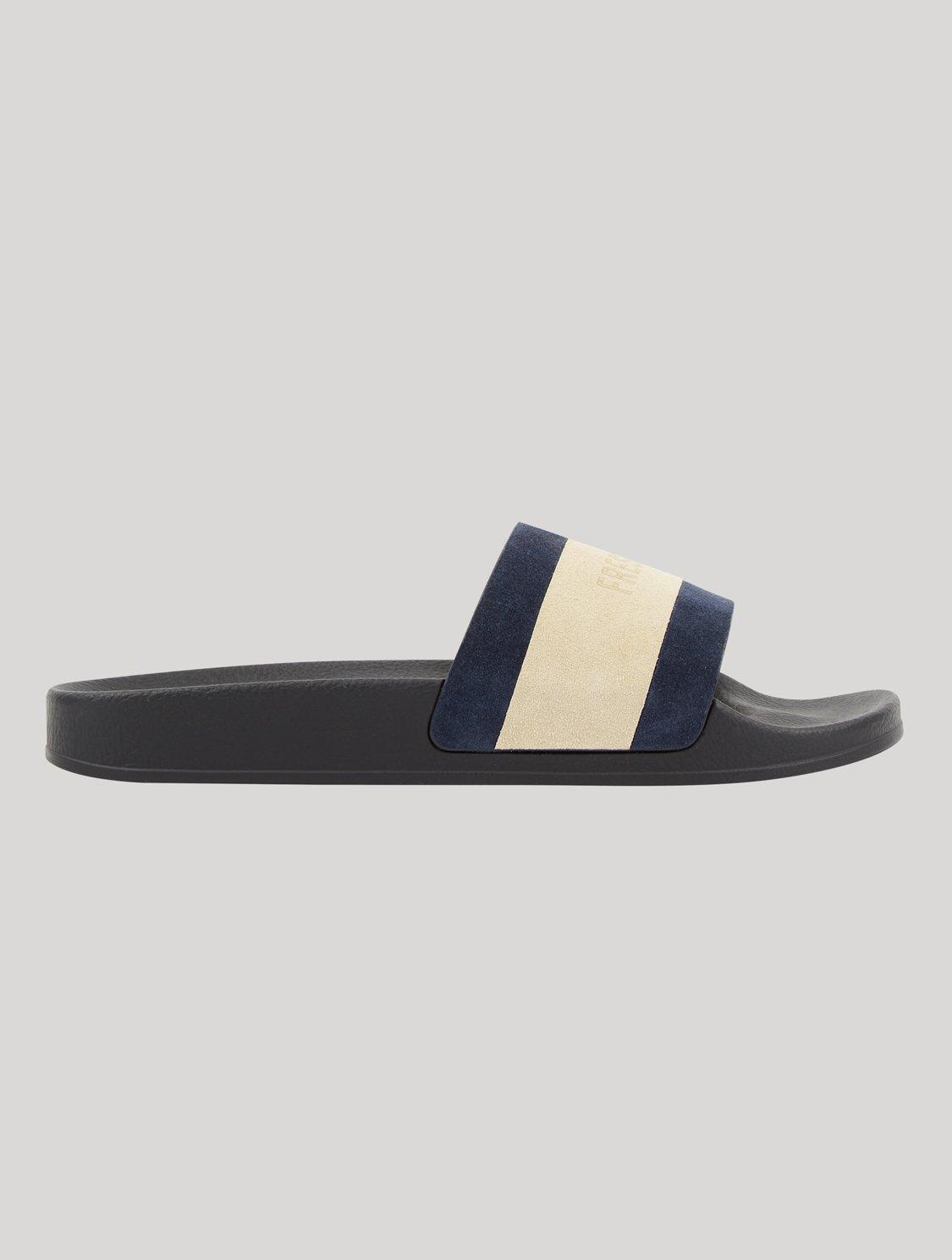 Humberto Sliders Frescobol Stripe Navy & Off-White 43