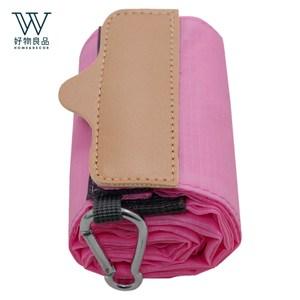 【好物良品】環保折疊伸縮便攜風琴收納購物袋_多款顏色任選粉色