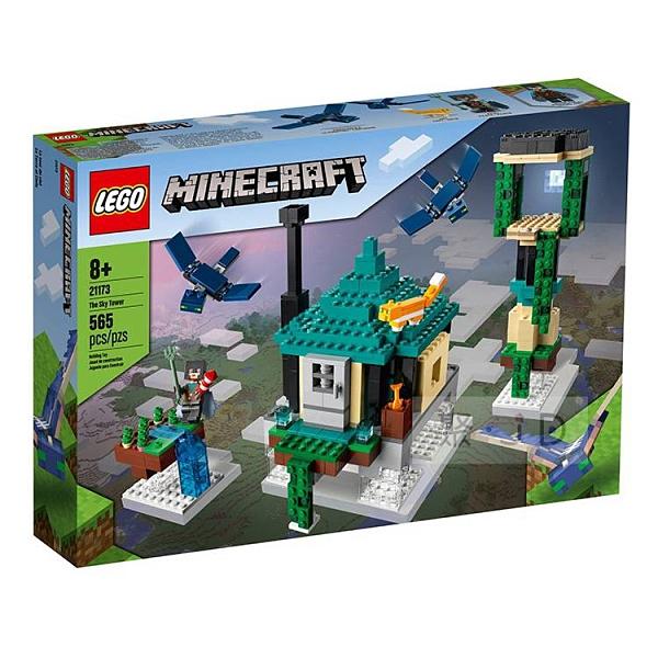 21173【LEGO 樂高積木】Minecraft 創世神 - 天空之塔