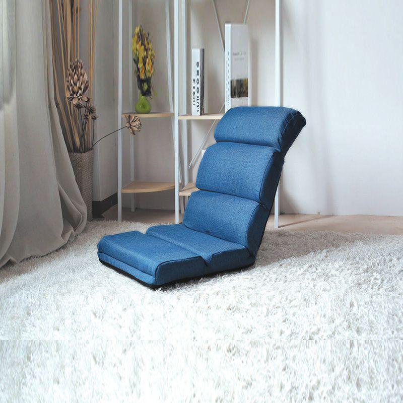 【CB29-62095】藍色舒適五段和室椅(6209BL)