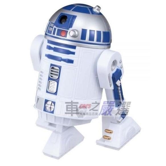 車之嚴選 cars_go 汽車用品【SW-4】NAPOLEX STAR WARS 星際大戰 R2-D2 置放式香水芳香劑