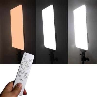 YADALED遙控平板攝影燈LED380A+R單燈組 高顯指96遙控可外拍