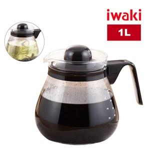 日本iwaki多用途耐熱玻璃咖啡壺(1L)1L