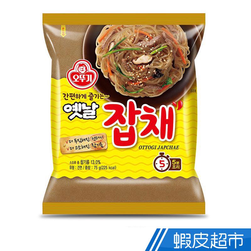 韓國不倒翁 韓式乾拌冬粉(75g/包) 人氣道地韓味 5分鐘快煮 現貨  蝦皮直送