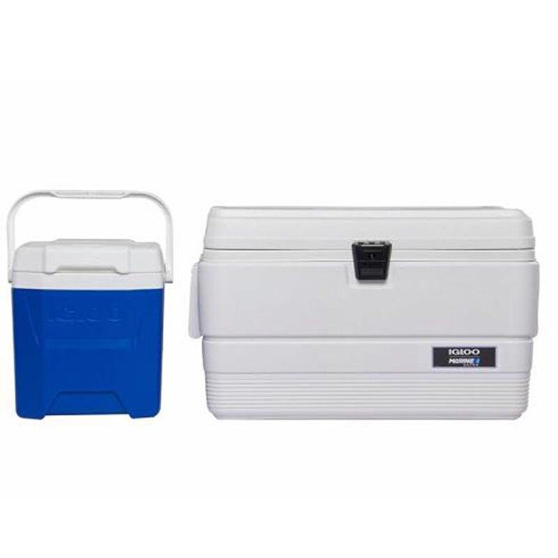 [COSCO代購] C1395109 Igloo 美國製 51&11公升雙冰桶組