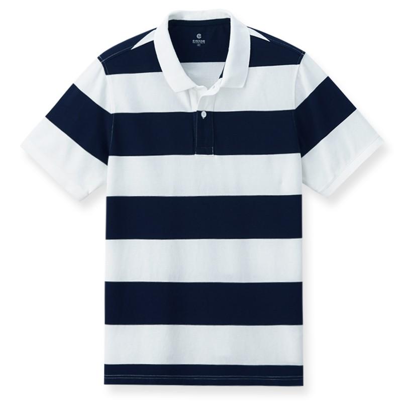 【ERSS】短袖POLO衫 - 男 丈青 K70023