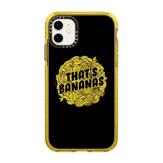 CASETiFY iPhone 11 Impact Case - That's Bananas
