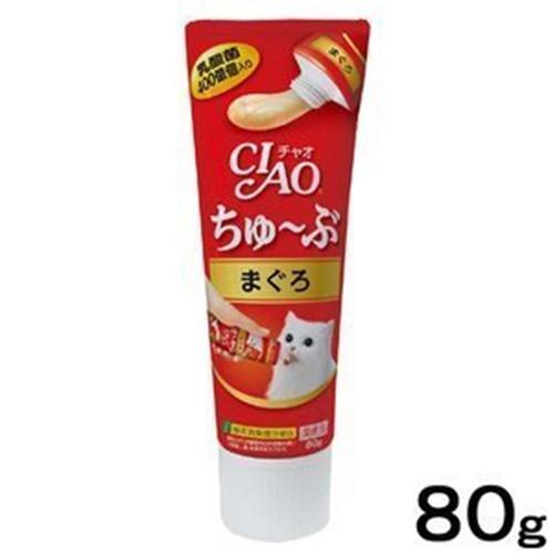 日本CIAO 啾嚕乳酸菌肉泥膏 80g/條 管狀好餵食 『WANG』