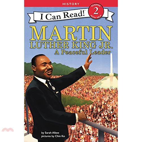 Martin Luther King, Jr. ─ A Peaceful Leader【三民網路書店】[73折]