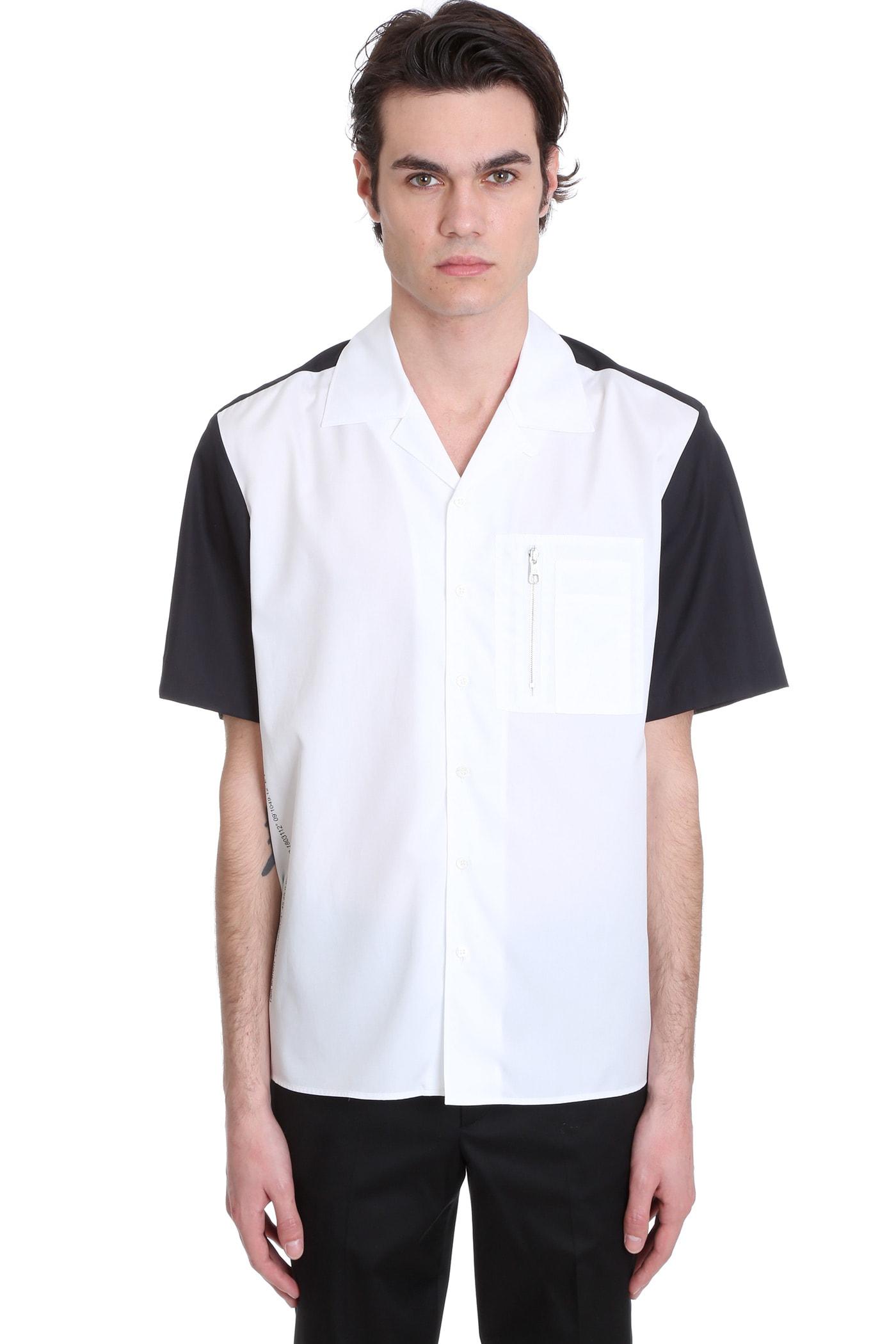 Neil Barrett Shirt In White Cotton