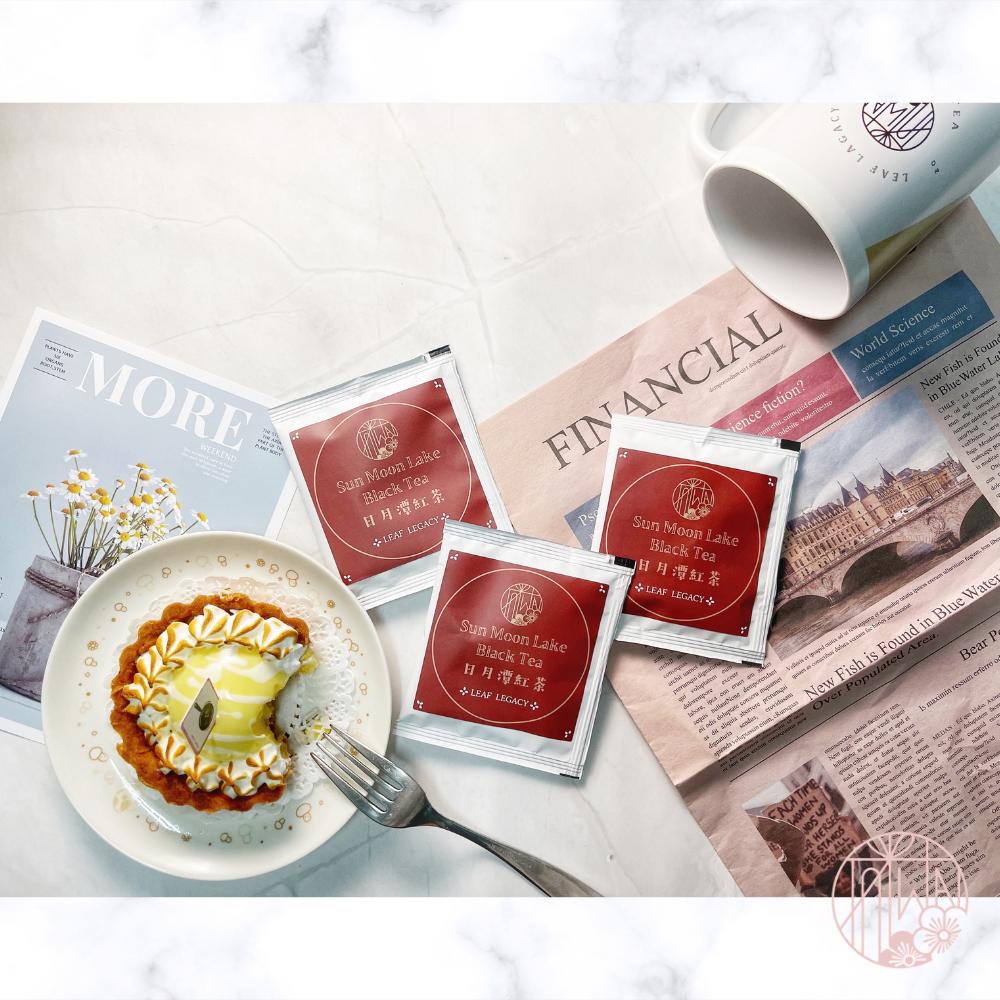 【日月潭紅茶試喝小盒3gx6入/盒】茶包組/特製小霧盒 《LEAF LEGACY》