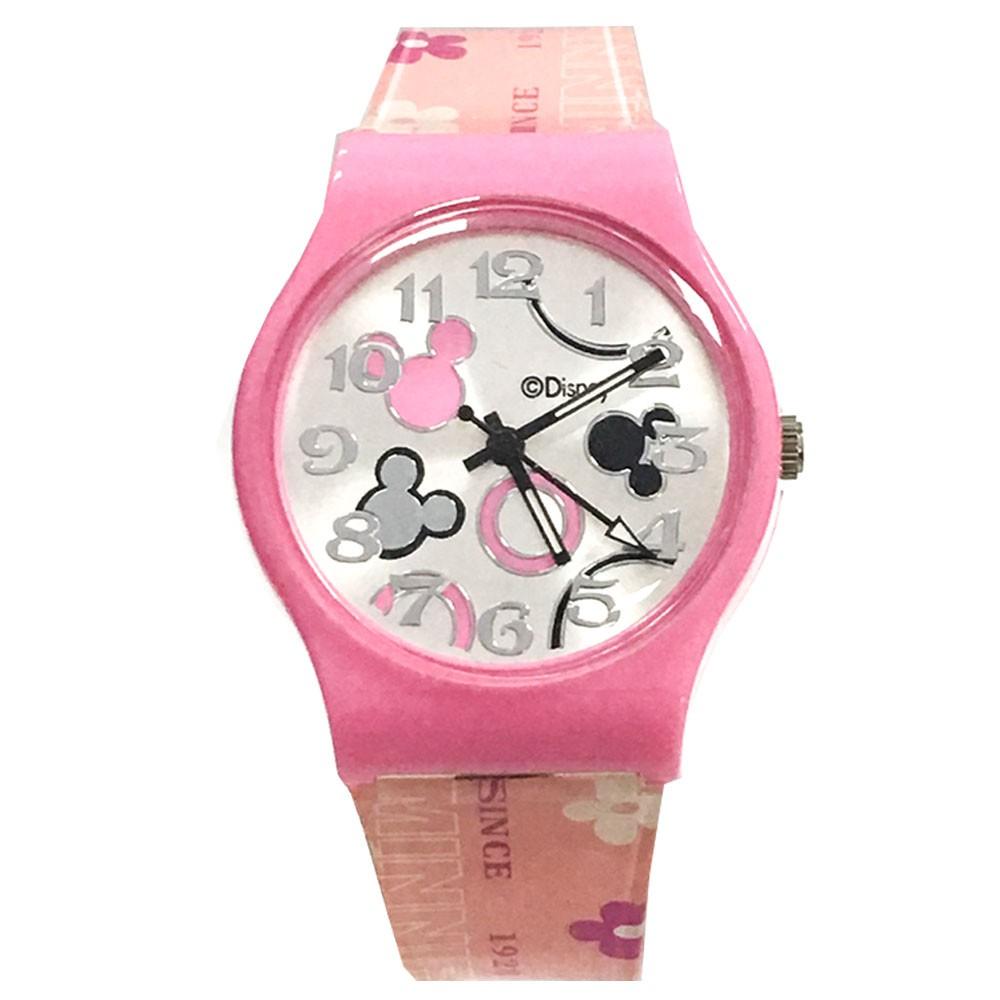 【迪士尼】夢想米奇手錶_粉紅