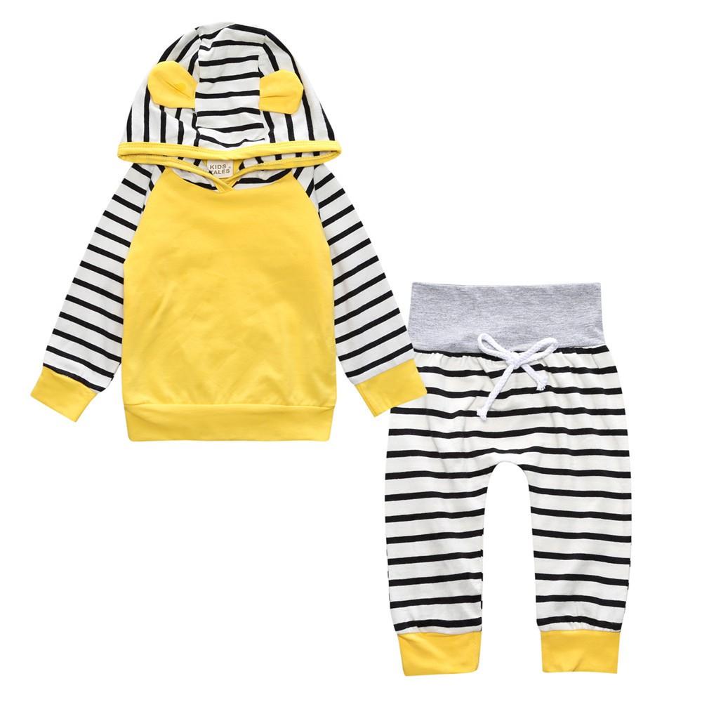 童裝 新款童鞋嬰幼童ins爆款新款寶寶嬰兒長袖套装休閒兒童長褲+長袖歐美兒童服