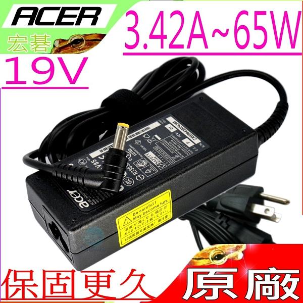 ACER 19V,65W 充電器(原廠)-宏碁 3.42A,P4VC0,V3-575TG,V5-132P,V7-481PG,V7-581G,A515-52G,V3-472PG,V3-532G