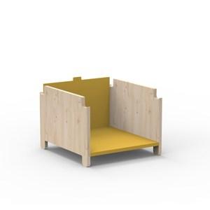 比利時 Mathy by Bols 蒙特利梭兒童衣櫃增高配件-赭色