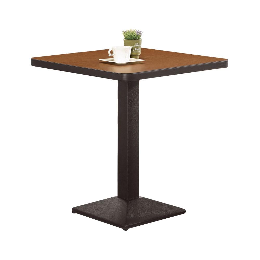Boden-貝羅2尺工業風方形餐桌/商業洽談桌(兩色可選)
