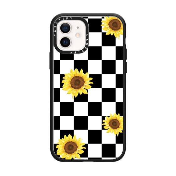 CASETiFY iPhone 12 Impact Case - SUMMER CHECKERS