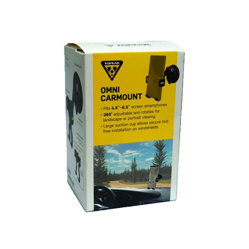 TOPEAK OMNI CARMOUNT汽車擋風玻璃手機固定架[36688069]