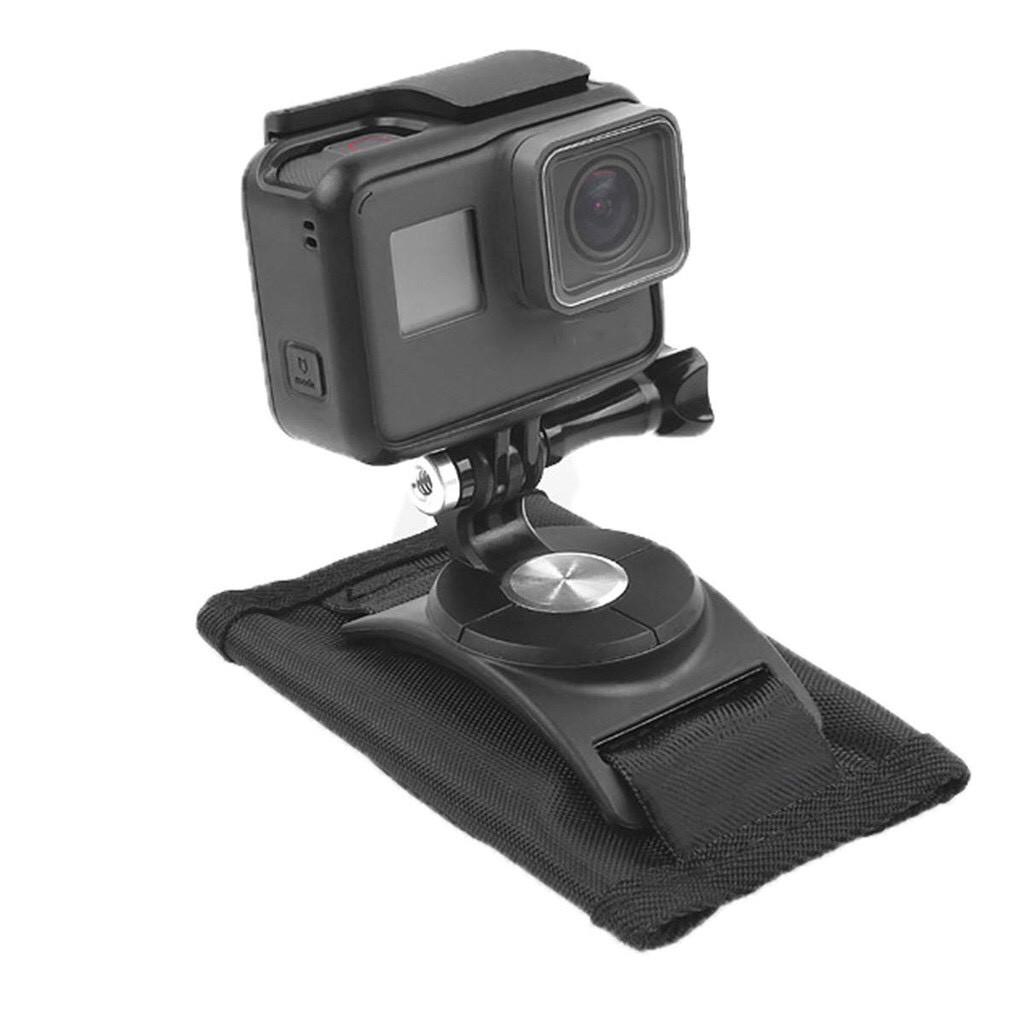 副廠配件 GoPro Hero 7 8 9 Osmo 運動相機 背包夾 【eYeCam】現貨 固定座 相機固定座 通用型