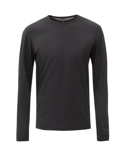 Reigning Champ - Training Long-sleeve Deltapeak 90-jersey T-shirt - Mens - Black