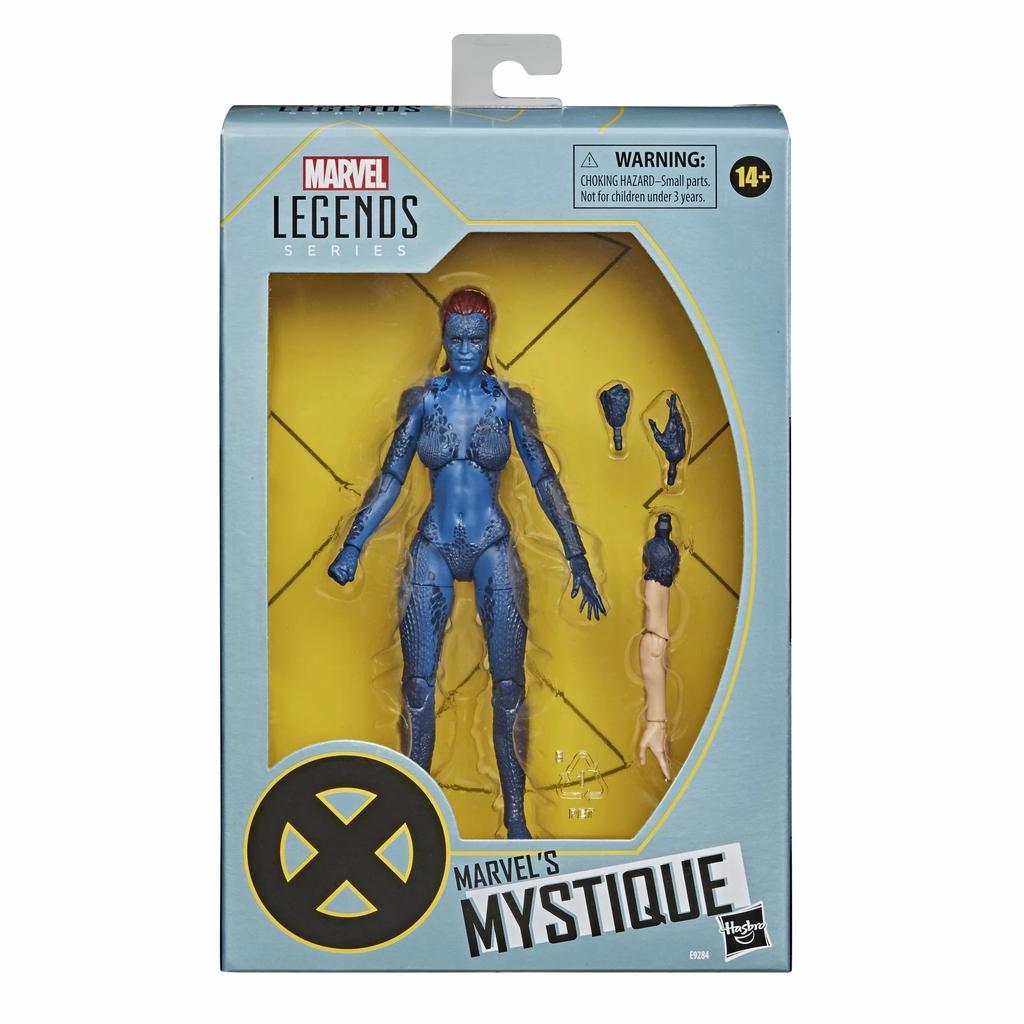 Hasbro 孩之寶 漫威X戰警電影20週年紀念傳奇6吋人物組-魔形女