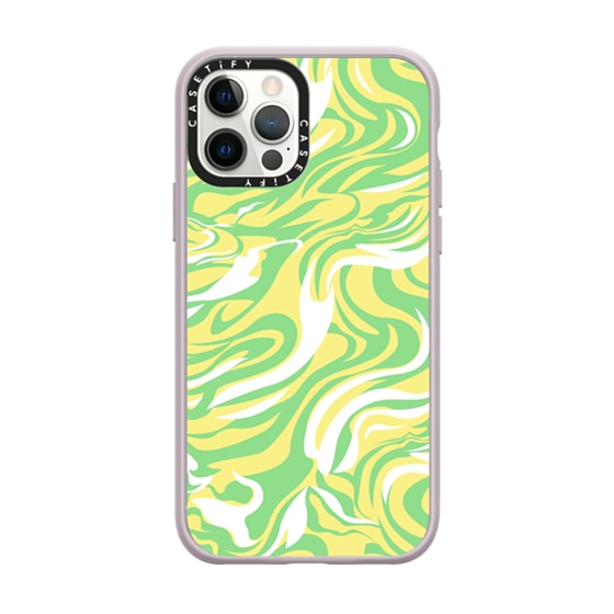 CASETiFY iPhone 12 Pro Impact Case - SWIRLY