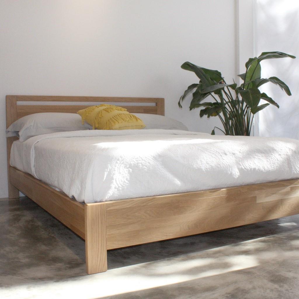 森手木工 新和風床架 family35 - 台灣製白橡木實木