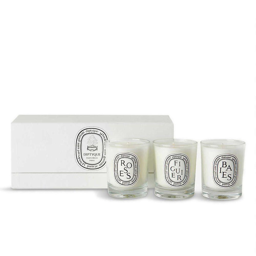 Diptyque 迷你香氛蠟燭禮盒 70gx3 (漿果、玫瑰、無花果)【SP嚴選家】