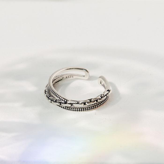 vacanza │純銀│復刻時尚.戒指