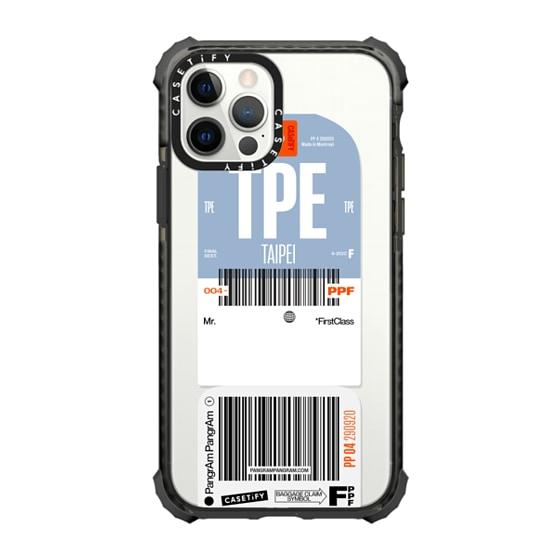 CASETiFY iPhone 12 Pro Ultra Impact Case - Pangram Custom (Mr. / MatDesjardins)
