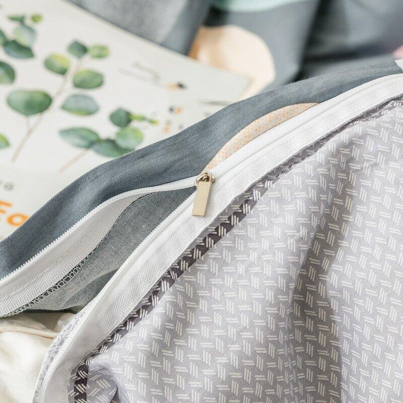 40支斜紋全棉布料密度128*68個性時尚簡約四件套被套枕套