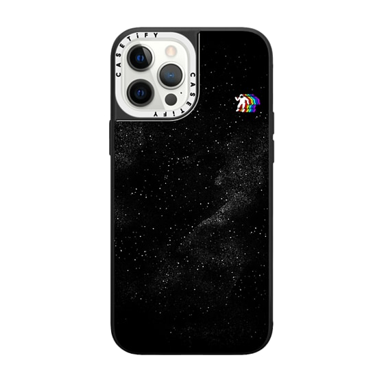 CASETiFY iPhone 12 Pro Max Grip Case White Camera Ring - Gravity V2