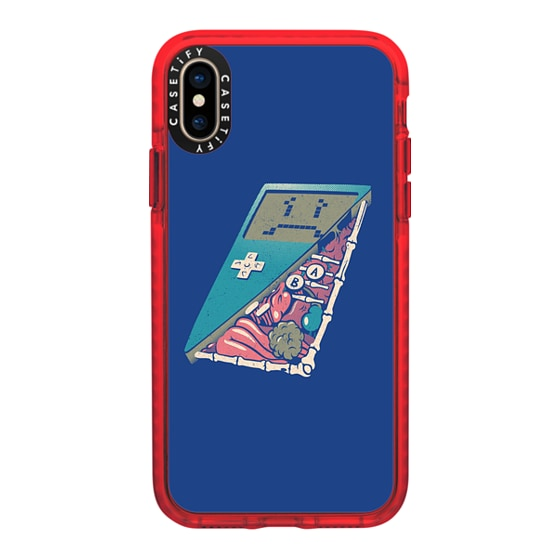 CASETiFY iPhone Xs Impact Case - Retro Video Game Inside