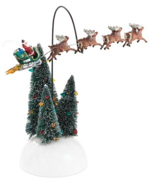 Department 56 National Lampoon's Christmas Vacation Village Animated Flaming Sleigh Collectible Figu