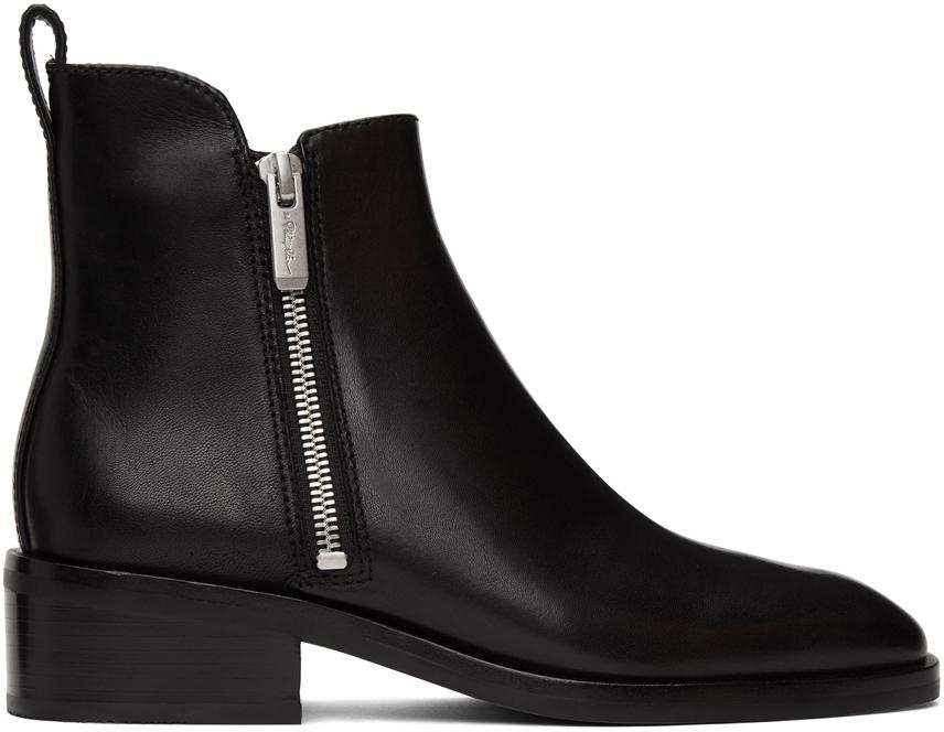 3.1 Phillip Lim 黑色 Alexa 踝靴
