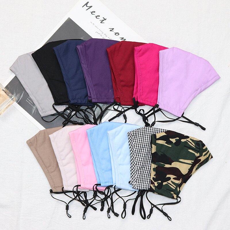 可清洗pm2.5過濾片純棉布防塵口罩定制 透氣防曬面罩廠家